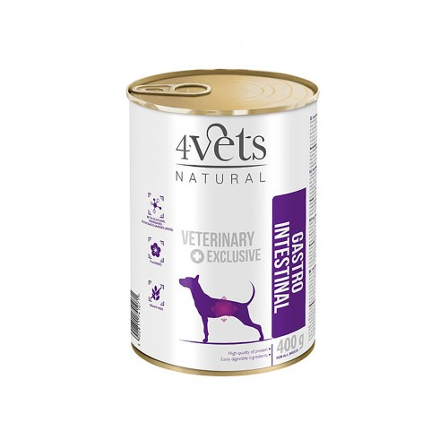 4VETS NATURAL GASTRO INTESTINAL - DIETA VETERINÁRIA