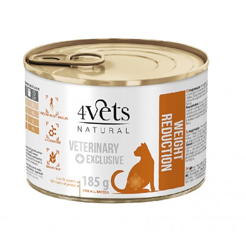 4VETS NATURAL GATO WEIGHT REDUCTION - VETERINARY DIET