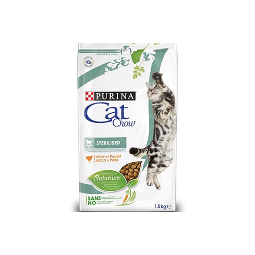 CAT CHOW STERILISED - PURINA