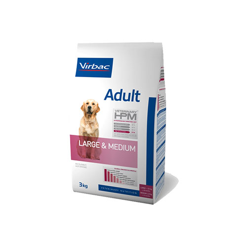 HPM ADULT DOG LARGE & MEDIUM - VIRBAC
