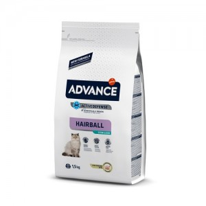 ADVANCE CAT STERILIZED HAIRBALL TURKEY & RICE