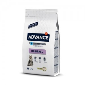 ADVANCE CAT HAIRBALL TURKEY & RICE