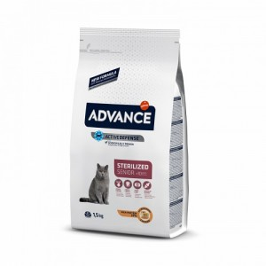 ADVANCE CAT SENIOR STERILIZED +10 ANOS