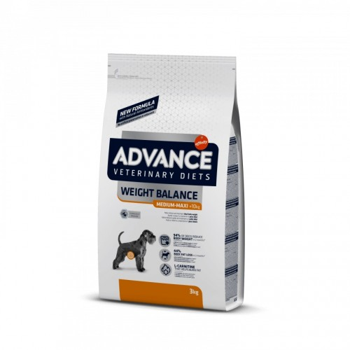 ADVANCE VETERINARY DIETS DOG WEIGHT BALANCE MEDIUM & MAXI