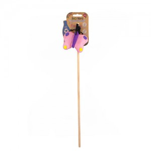 BECO CATNIP WAND BUTTERFLY