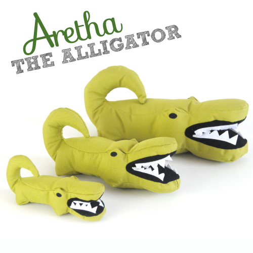 BECO SOFT - ARETHA THE ALLIGATOR