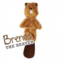 BECO SOFT TOY STUFFING FREE  - BRENDA THE BEAVER
