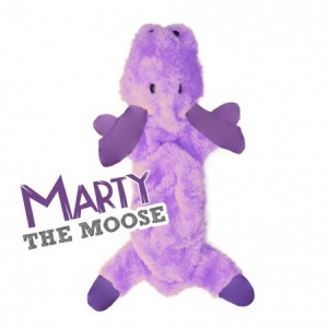 BECO SOFT TOY STUFFING FREE  - MARTY THE MOOSE