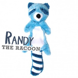 BECO SOFT TOY STUFFING FREE  - RANDY RACOON