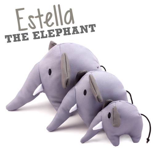 BECO SOFT - ESTELLA THE ELEPHANT