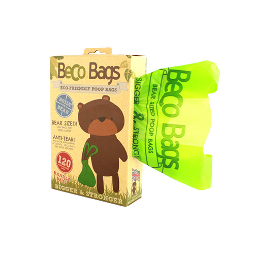 BECO POOP BAGS - HANDLE PACK