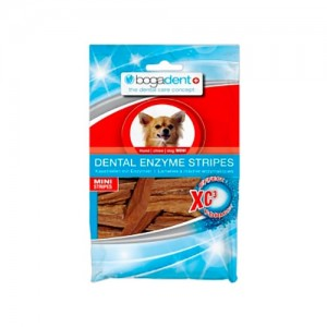 BOGADENT DENTAL ENZYME  STRIPES MINI - CÃO