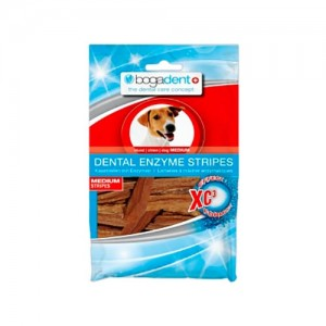 BOGADENT DENTAL ENZYME STRIPES MEDIUM - CÃO