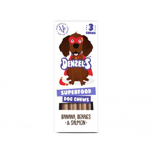 DENZEL`S SNACK - SUPERFOOD DOG CHEWS