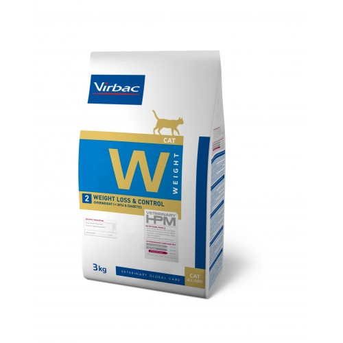 HPM VET DIETS CAT W2 - WEIGHT LOSS & CONTROL