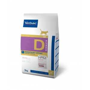 HPM VET DIETS CAT DERMATO D1 - DERMATOLOGY SUPPORT