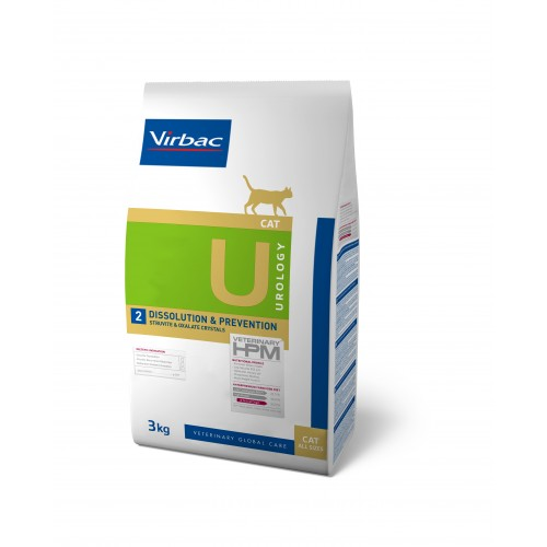 HPM VET DIETS CAT UROLOGY U2 DISSOLUTION & PREVENTION