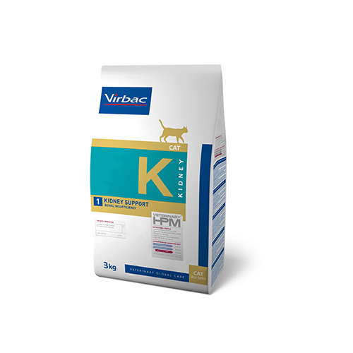 HPM VET DIETS CAT K1 - KIDNEY SUPORT