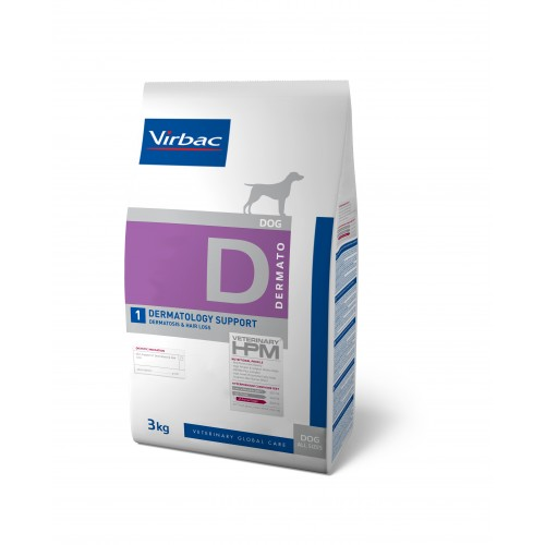 HPM VET DIETS DOG D1 - DERMATOLOGY SUPPORT