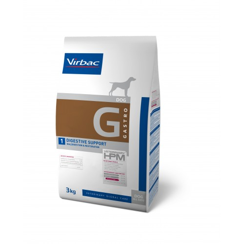 HPM VET DIETS DOG G1 - GASTRO DIGSTIVE SUPPORT