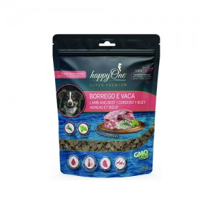 HAPPYONE MEDITERRANEUM DOG SNACK BORREGO & VACA