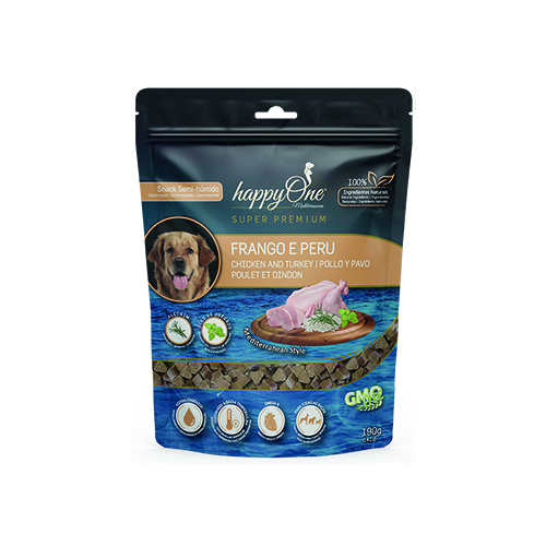 HAPPYONE MEDITERRANEUM DOG SNACK FRANGO & PERU