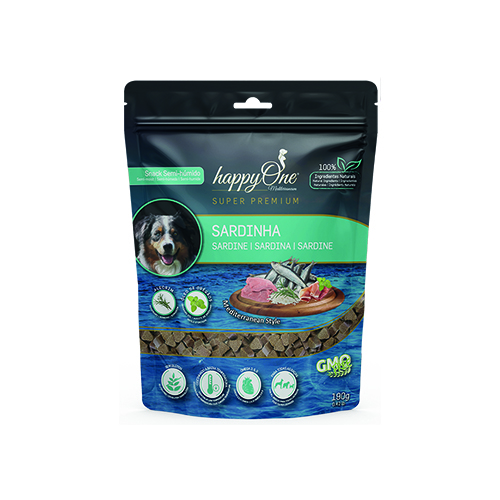 HAPPYONE MEDITERRANEUM DOG SNACK SARDINHA