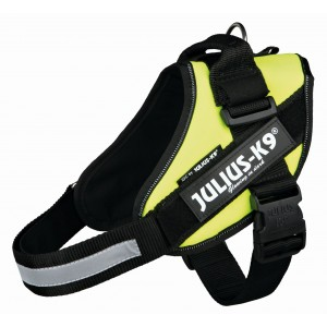 JULIUS K 9 IDC POWERHARNESS - AMARELO NEON