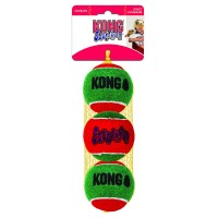 KONG HOLIDAY SQUEAKAIR BALL