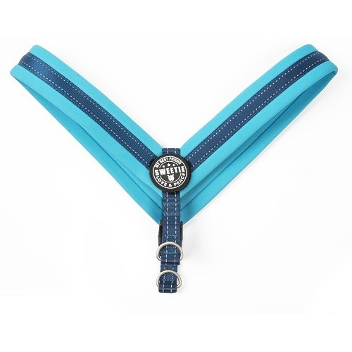 Q-FIT HARNESS MATRIX BLUE - MAX & MOLLY