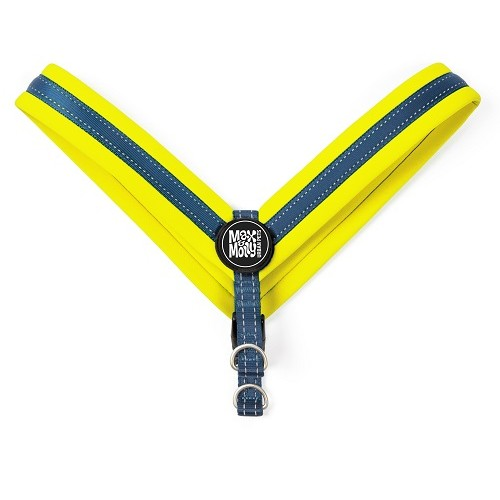 Q-FIT HARNESS MATRIX YELLOW - MAX & MOLLY