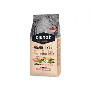 OWNAT JUST GRAIN FREE GATO ADULT - CHICKEN