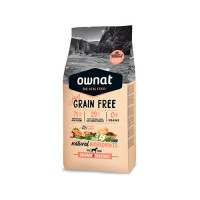 OWNAT JUST GRAIN FREE CÃO ADULT - SALMON