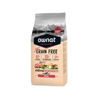 OWNAT JUST GRAIN FREE CÃO ADULT - DUCK