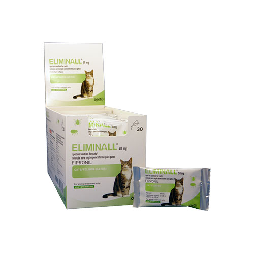ELIMINALL SPOT-ON GATO 50 MG