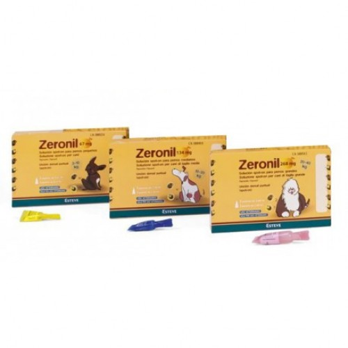 ZERONIL CÃES SPOT-ON - 3 PIPETAS
