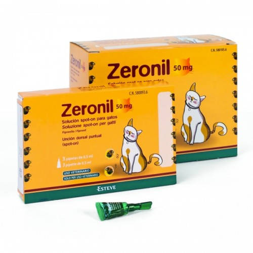 ZERONIL GATOS - 50MG
