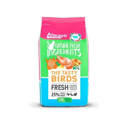 ALWAYS CAT FOOD - TASTY BIRDS