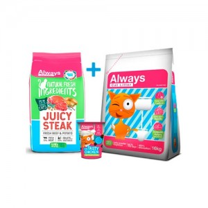 ALWAYS CAT FOOD - JUICY STEAK PACK