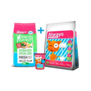 ALWAYS CAT FOOD - STERILISED PACK