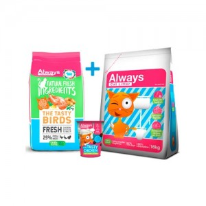 ALWAYS CAT FOOD - TASTY PACK