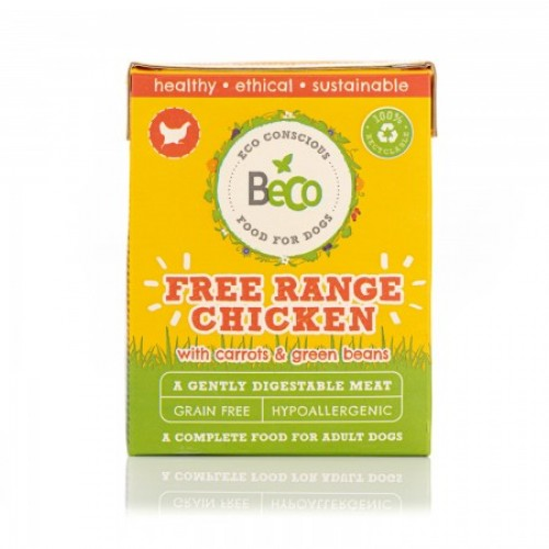 BECO WET FOOD - FREE RANGE CHICKEN