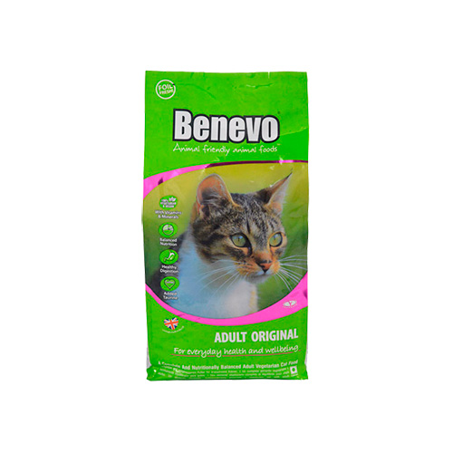 BENEVO CAT ADULT ORIGINAL - VEGETARIANO