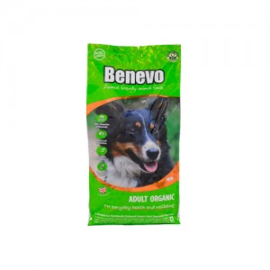 BENEVO DOG ADULT ORGANIC DOG FOOD - COMIDA VEGETARIANA