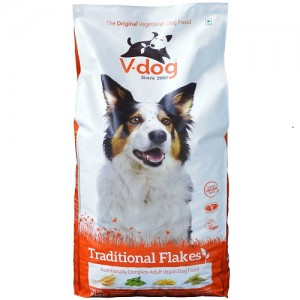 V-DOG TRADITIONAL FLAKES  - RAÇÃO VEGETARIANA