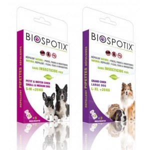 BIOSPOTIX SPOT ON NATURAL PARA CÃES - PIPETAS