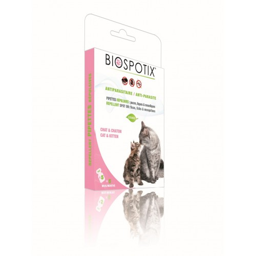 BIOSPOTIX SPOT ON NATURAL PARA GATOS- PIPETAS