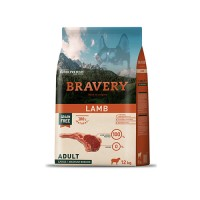 BRAVERY LAMB ADULT MEDIUM-LARGE (GRAIN FREE) - CÃO