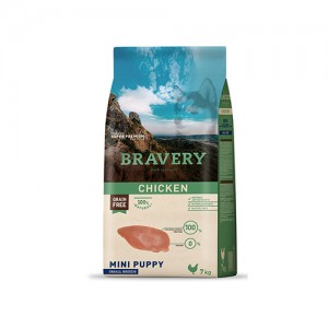 BRAVERY CHICKEN PUPPY MINI-SMALL (GRAIN FREE)