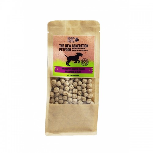 BUGS FOR PETS TRAINERS LARVA FARINHA E ARROZ